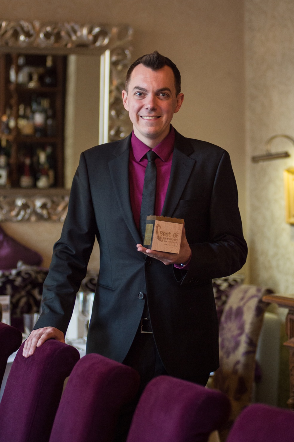 Oliver de Luca mit Best-of-Wine Tourism Award